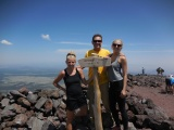 The Fruth's Reach the Top of Mt. Humphreys