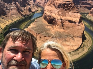 Epic Selfie Fail at Horseshoe Bend